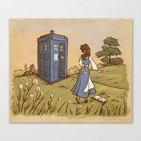 Adventure In The Great W… Canvas Print