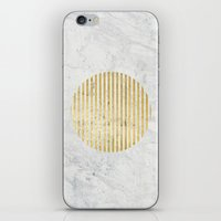gOld sun iPhone & iPod Skin