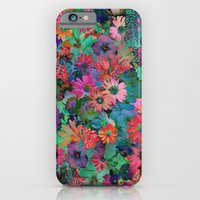 iPhone & iPod Case featuring A Small Piece of Grandma's Garden by Klara Acel