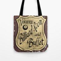 Vintage Vancouver Billia… Tote Bag