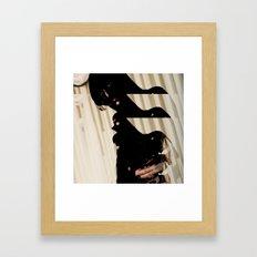 Dissolving 2 Framed Art Print