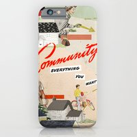 community iPhone & iPod Cases featuring Community by Heather Landis