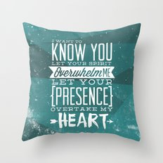Know You Throw Pillow