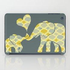 Elephant Hugs iPad Case