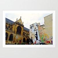 Paris….Shhhhh Art Print