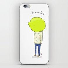 Lemon Boy iPhone & iPod Skin