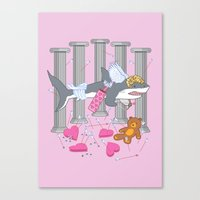 The Cupid Shark Canvas Print