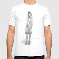 Black Days (sketch) Mens Fitted Tee White SMALL