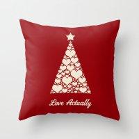 Love Actually Throw Pillow