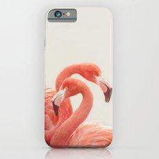 FLAMINGOS by Monika Strigel iPhone 6 Slim Case