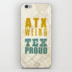 ATX Weird TEX Proud iPhone & iPod Skin
