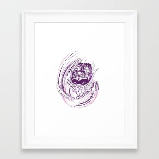 Superhero V.2 Framed Art Print