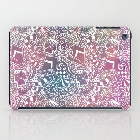 Theta Print-Pastel iPad Case