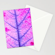 leaf abstract IV Stationery Cards