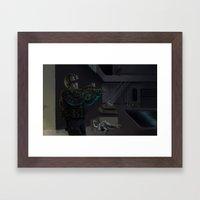 Extra Terrestrial Contro… Framed Art Print