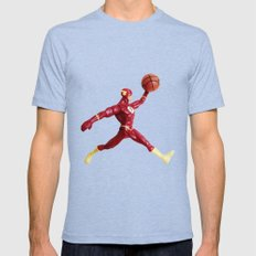 Flash Jordan Mens Fitted Tee Tri-Blue SMALL