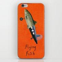 flying fish iPhone & iPod Skin