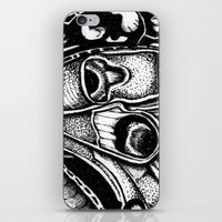 Pretty Fly For A Butterfly iPhone & iPod Skin