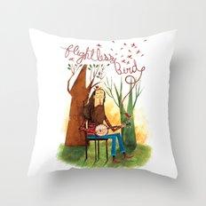 Flightless Bird Throw Pillow