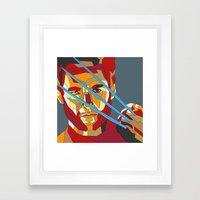 James Howlett Framed Art Print