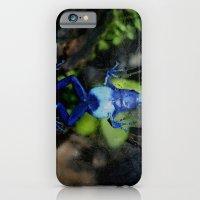 iPhone & iPod Case featuring Poison Dart Frog Belly- Dendrobates Azureus by Kimberly Sulzer-Girlwithafrogtattoo
