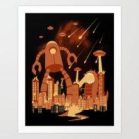 Armageddon Art Print