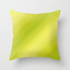 Pattern Lime Green Throw Pillow
