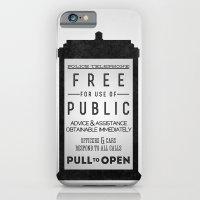 PULL to OPEN (TARDIS) iPhone 6 Slim Case
