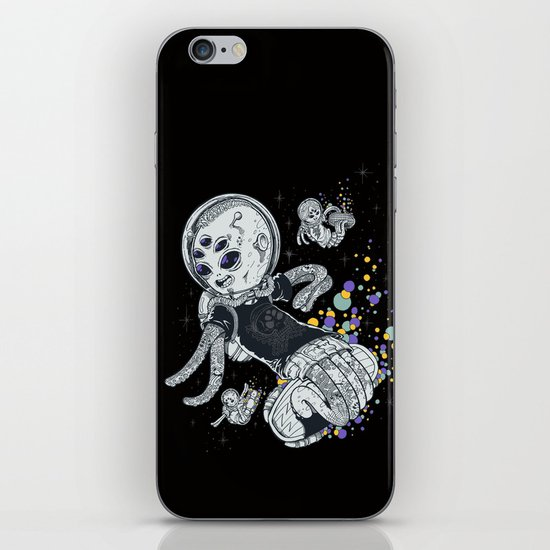 SKATE INVADERS iPhone & iPod Skin