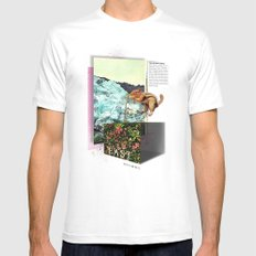 Alpine Tundra Mens Fitted Tee SMALL White