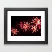 Fireworks - Philippines 11 Framed Art Print