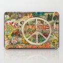 Peace Sign - Love - Graffiti iPad Case