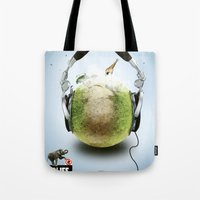 Wildlife Music Edition Tote Bag