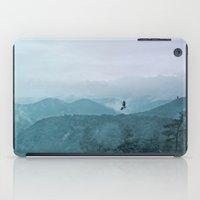 Blue smoky mountains iPad Case