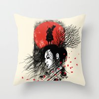 Renai Throw Pillow