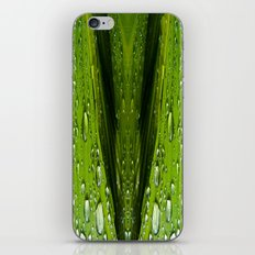 Floral Reflections in water iPhone & iPod Skin