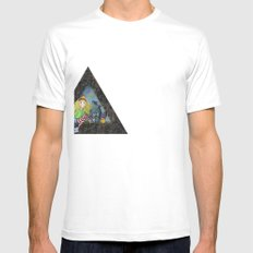 modern heidi Mens Fitted Tee SMALL White