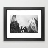 Philly Love Framed Art Print