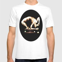 Juggler Mens Fitted Tee White SMALL