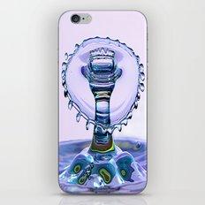 water crown iPhone & iPod Skin