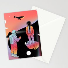 Coexistentiality 2 (A Passing View) Stationery Cards