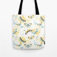 Butterflies In The Garde… Tote Bag