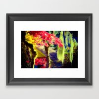 Fall Colors At Crescent … Framed Art Print