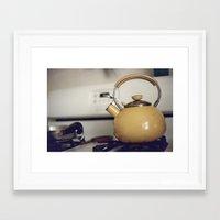 Film -- Kitchen love Framed Art Print