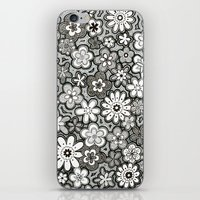 Flower Frenzy iPhone & iPod Skin
