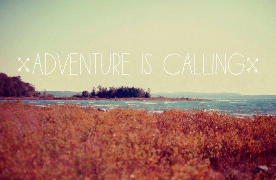 Adventure is Calling #2 Art Print