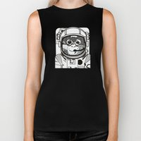 Searching for human empathy Biker Tank