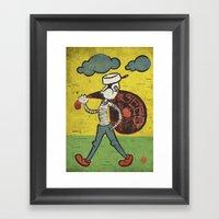 Johnny Appleseed Framed Art Print
