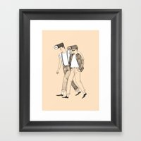 Roll Bros Framed Art Print