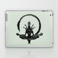 Meditation Alien Laptop & iPad Skin